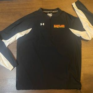 Black Maryland Under Armour Pullover - S